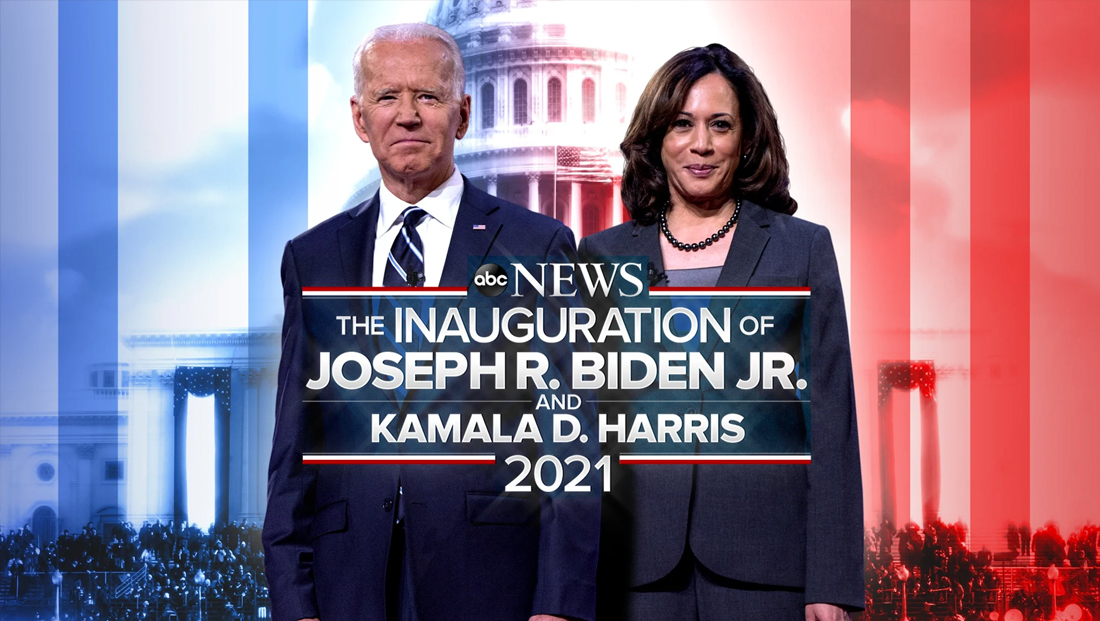 Promos start to reveal networks' 2021 inauguration branding