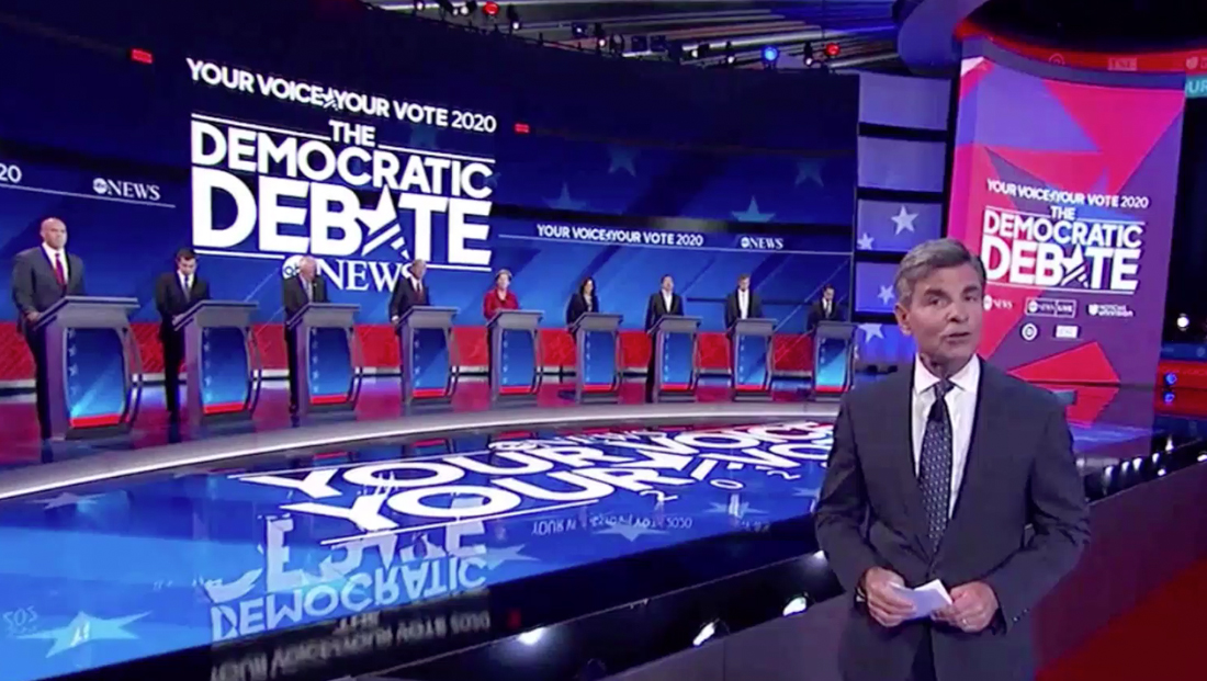 ABC, Univision blend two brands together on debate stage