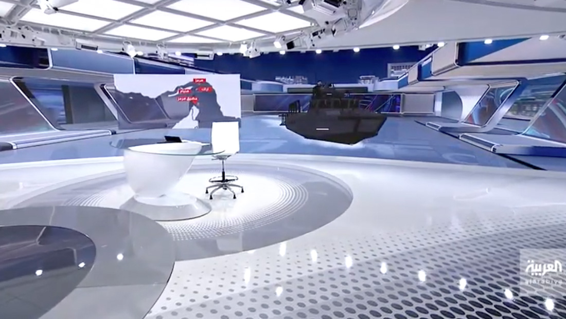 Watch how Al Arabiya implemented augmented reality with its new broadcast facility