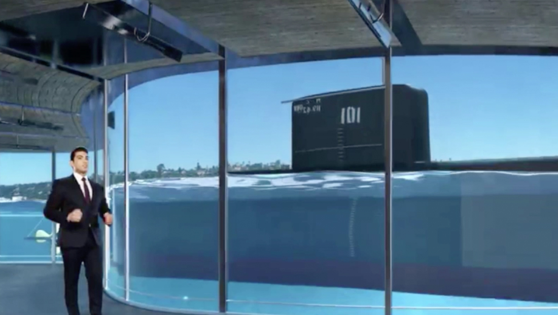 Alghad TV takes deep dive with virtual submarine explainer