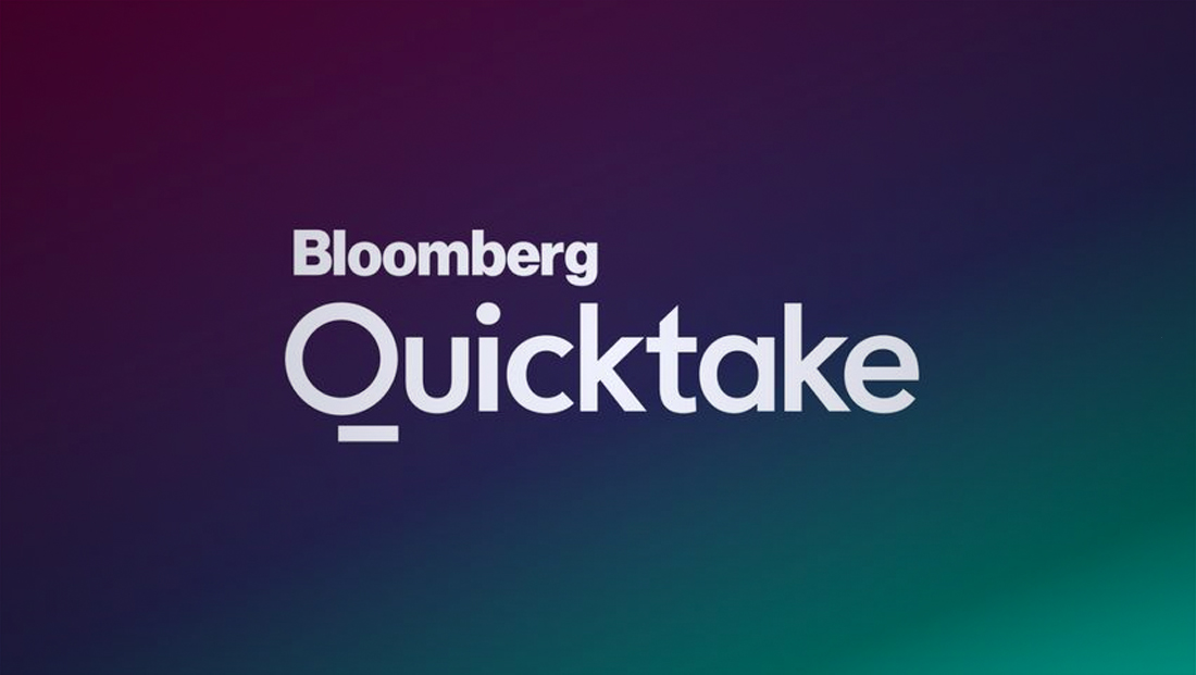 A look at the Bloomberg Quicktake logo design