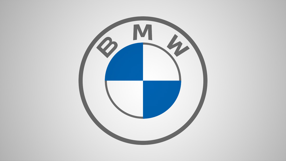 BMW sheds the shine in its new logo