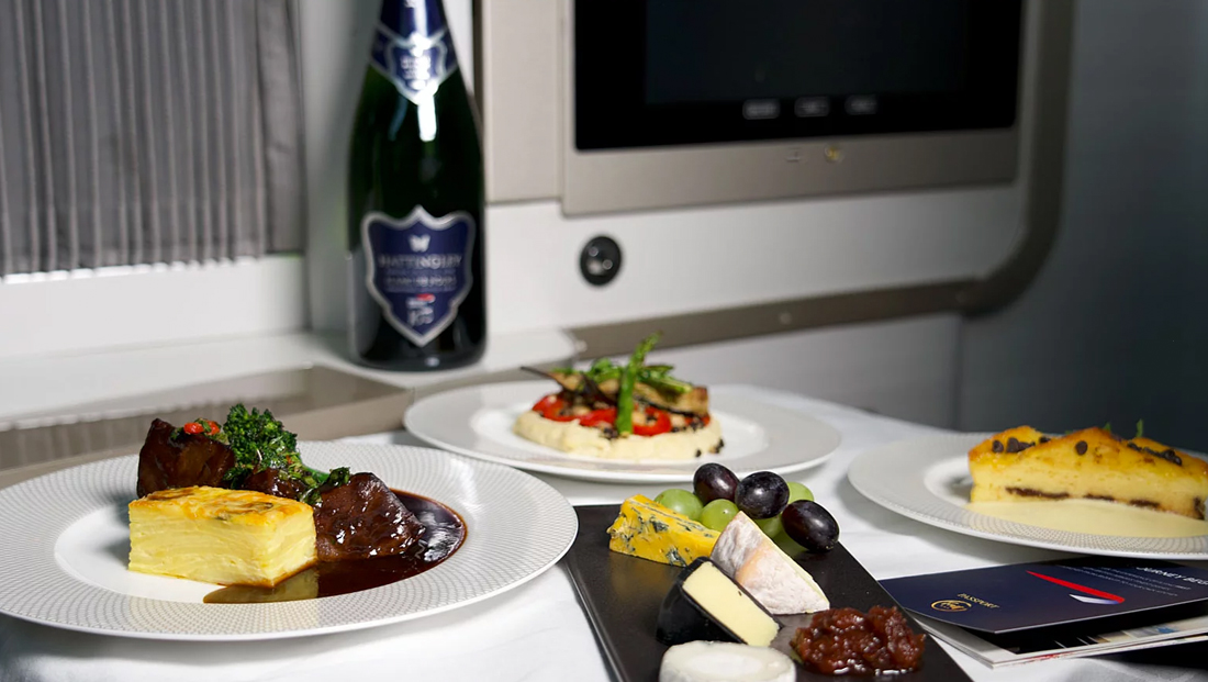British Airways releases first class meal kits to U.K. residents