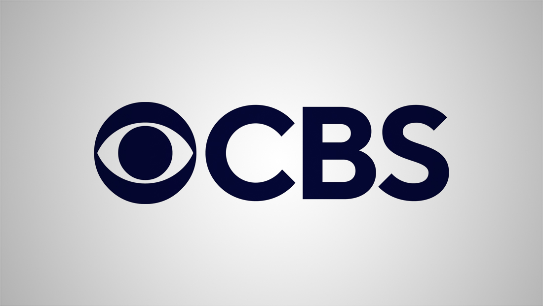 What font is used in the new CBS logo?