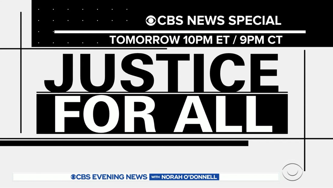 CBS News plans 'Justice for All' special with Gayle King