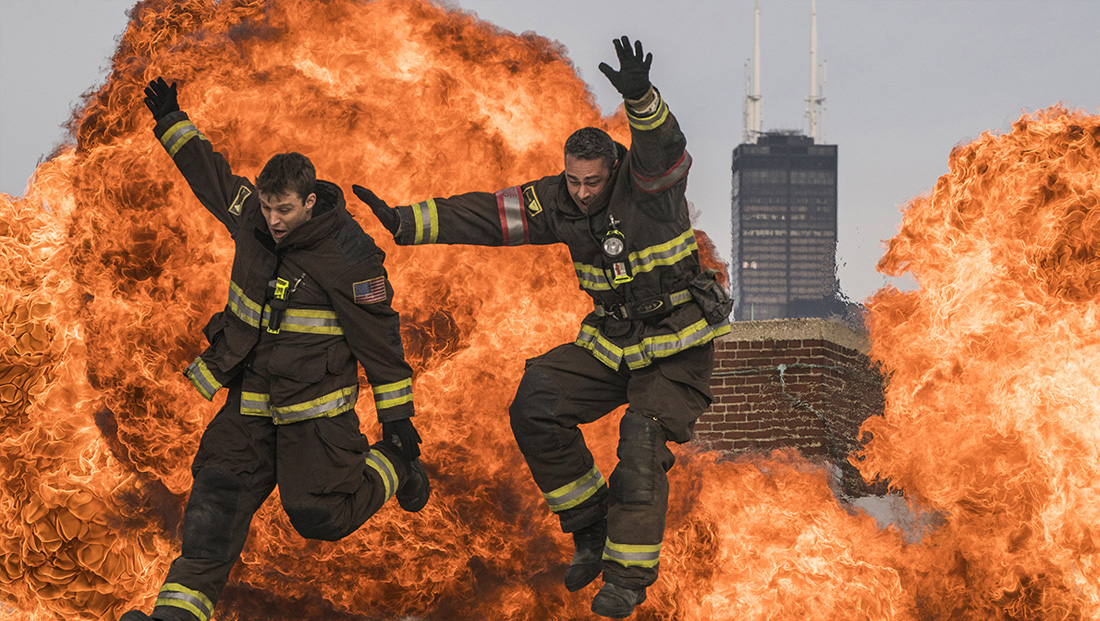Where does 'Chicago Fire' film?