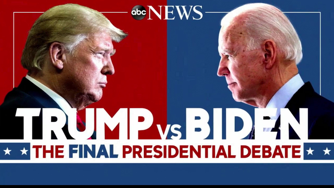 The network opens for the final debate between Trump and Biden