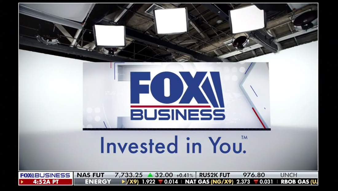 Fox Business goes live with look inspired by sister network