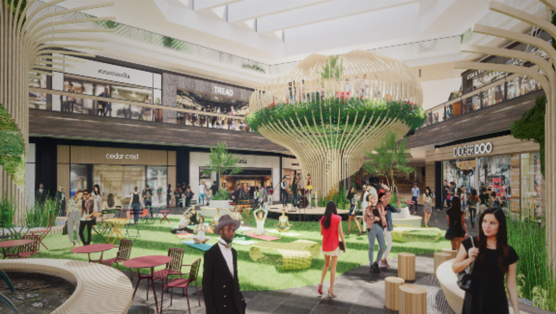 Suburban Chicago mall to add 'tree' house, indoor 'park'