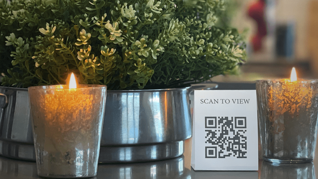qReveal introduces free contactless menus