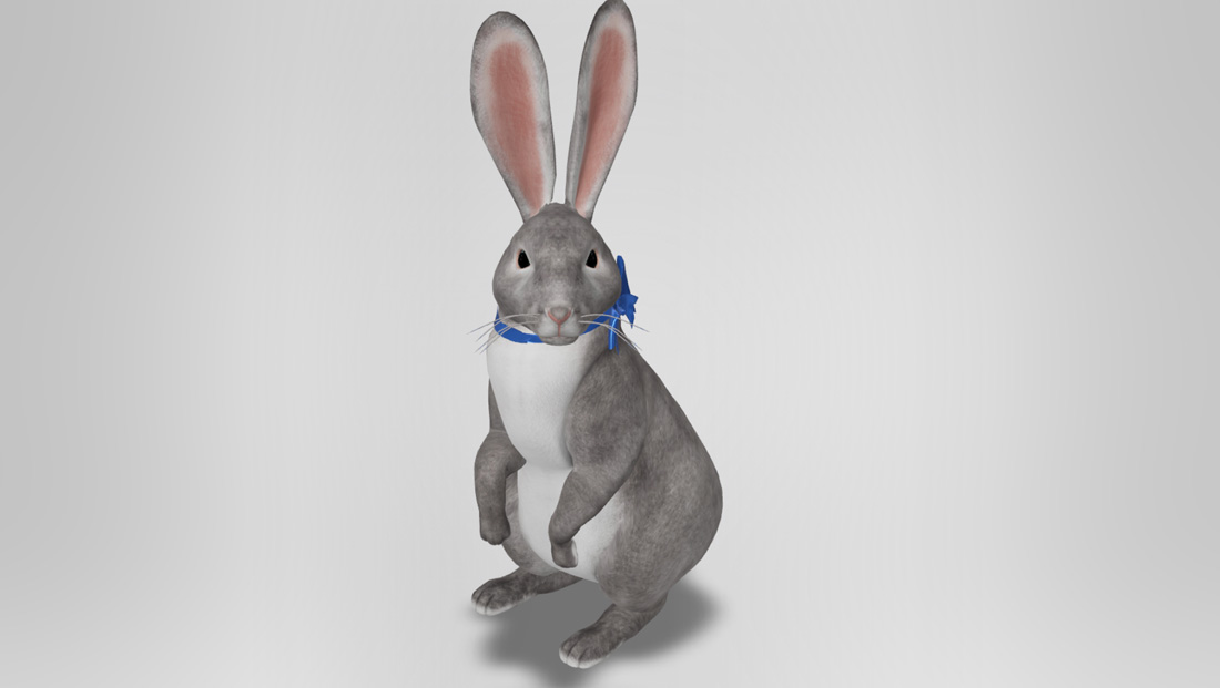 Google adds augmented reality Easter bunny