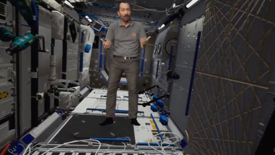 France 2 takes viewers on 'trip' to ISS thanks to immersive mixed reality