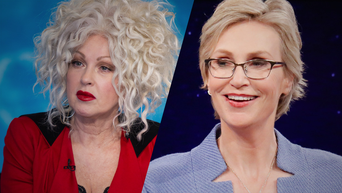 Cyndi Lauper, Jane Lynch developing 'Golden Girls'-like comedy for Netflix