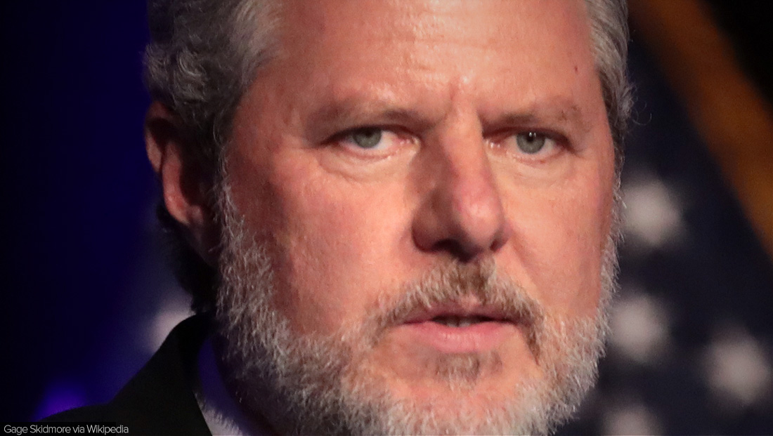 Jerry Falwell Jr. had campus police issue warrants for journalists