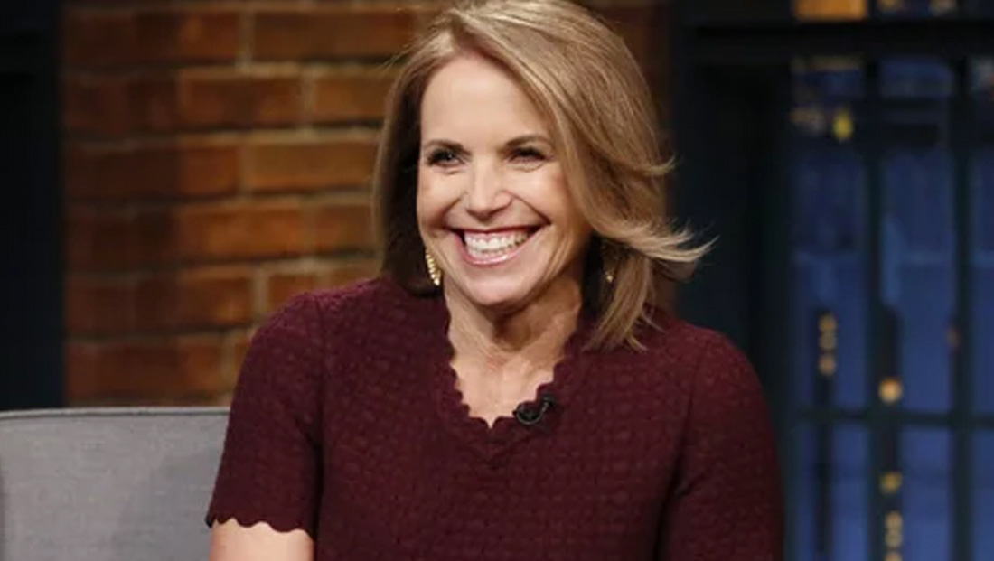 How Katie Couric is passing time during coronavirus pandemic