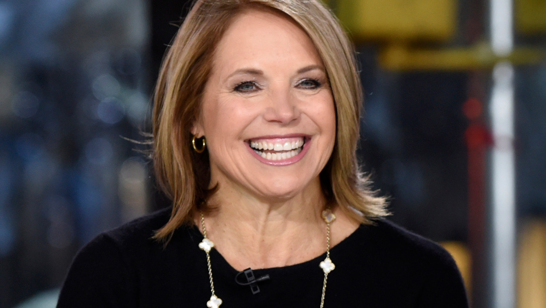 Katie Couric 'feels good' after casting her vote