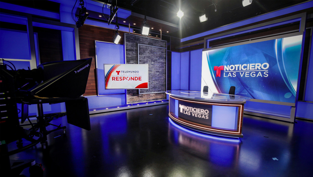 Telemundo Las Vegas opens new IP-focused broadcast facility