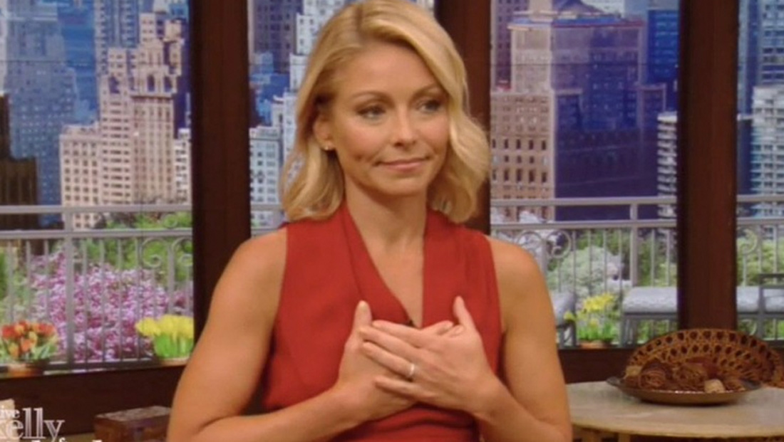 Kelly Ripa secretly joining 'Live' from Caribbean house