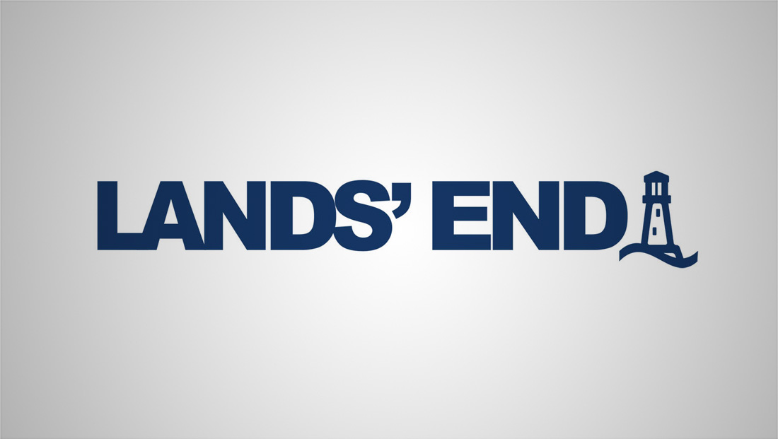 Lands' End is surveying customers about its logo design (and if they'd buy polos with it)