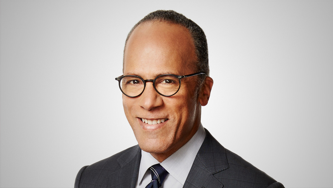 Lester Holt went to prison for NBC News special