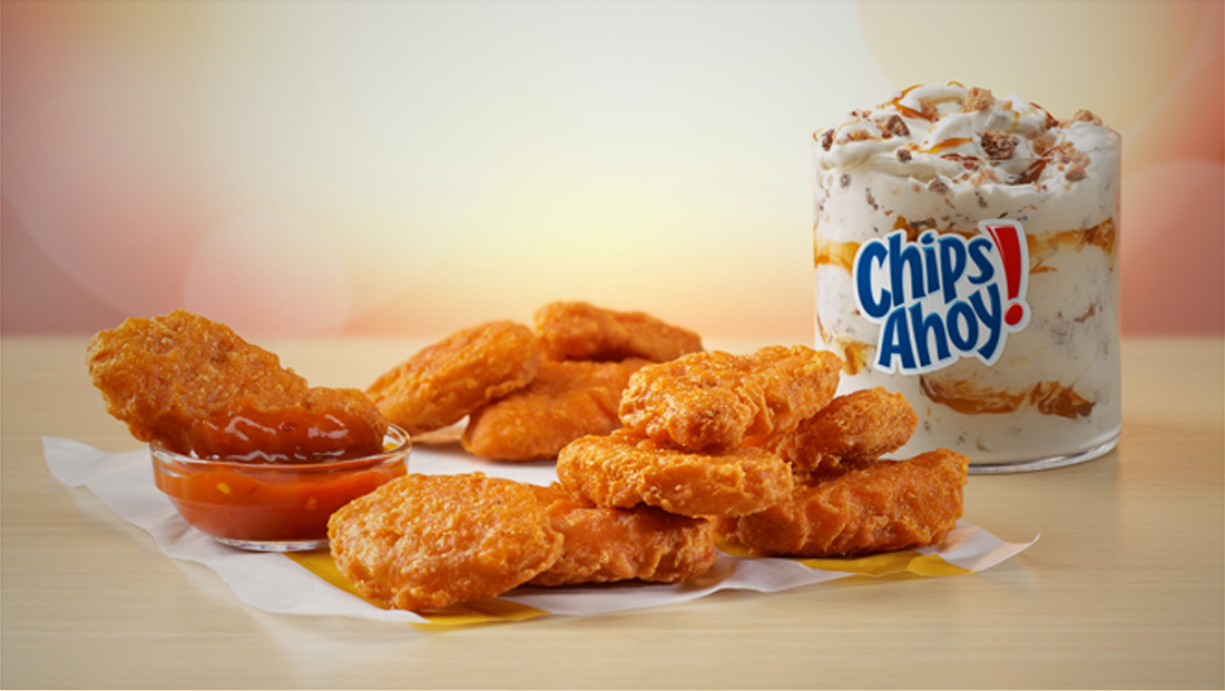 McDonald's adding spicy nuggets, new McFlurry option