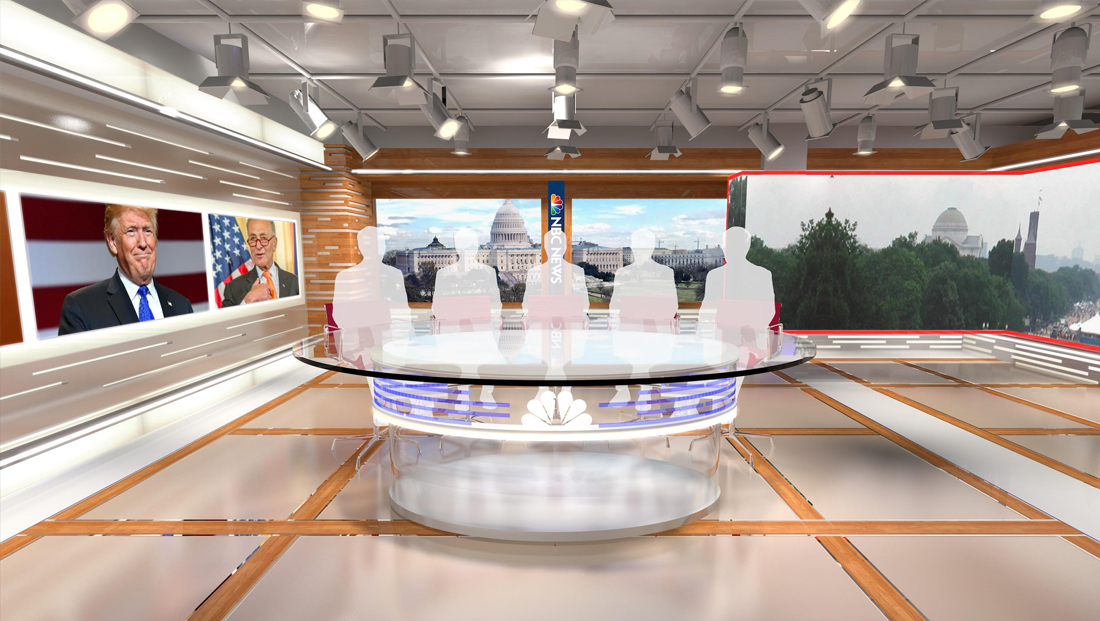 NBC opens expanded Capitol Hill studio after almost two years of downtime due to fire