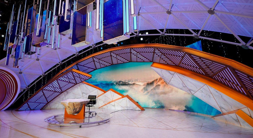 NBC's Olympic studios capture winter while providing modern venue for TV