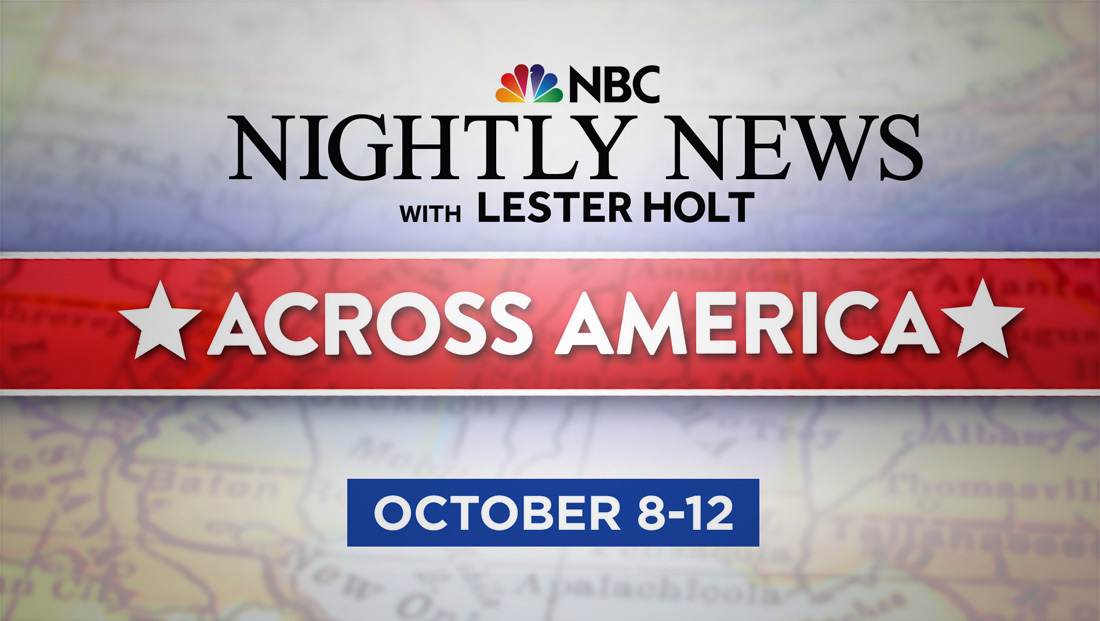 Nbc Nightly News Covers Kavanaugh Confirmation From Houston Newscaststudio