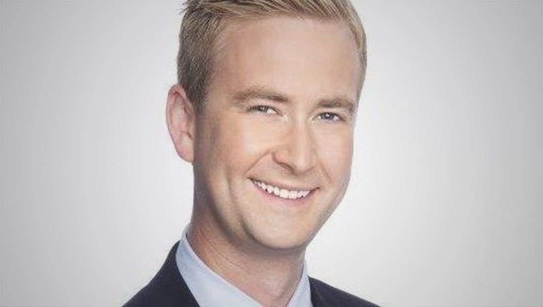 Fox star explains why Peter Doocy, son of another network star, is a better White House correspondent than CNN's Jim Acosta