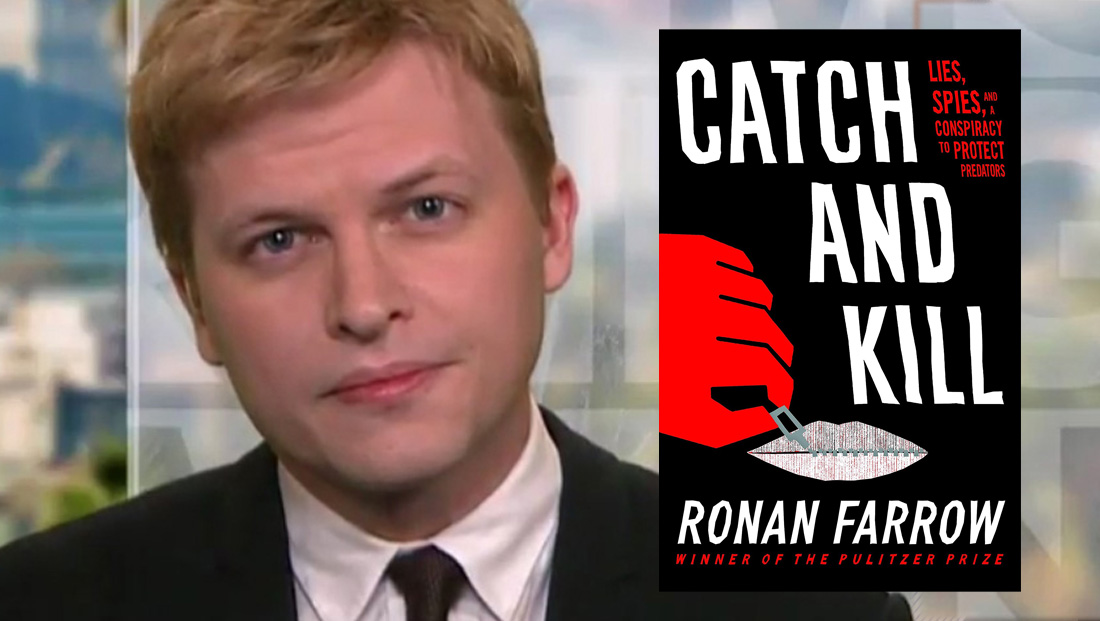 Ronan Farrow sets interviews with Fox personalities
