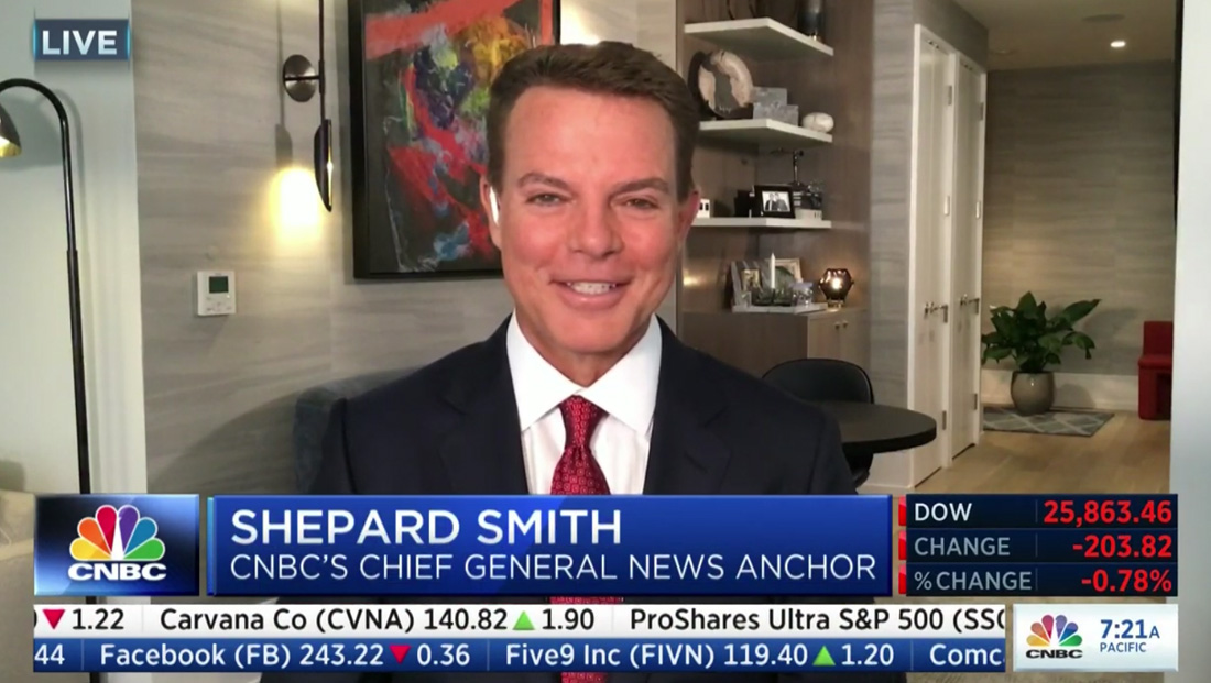 Shepard Smith says new CNBC show will be free of opinion and pundits