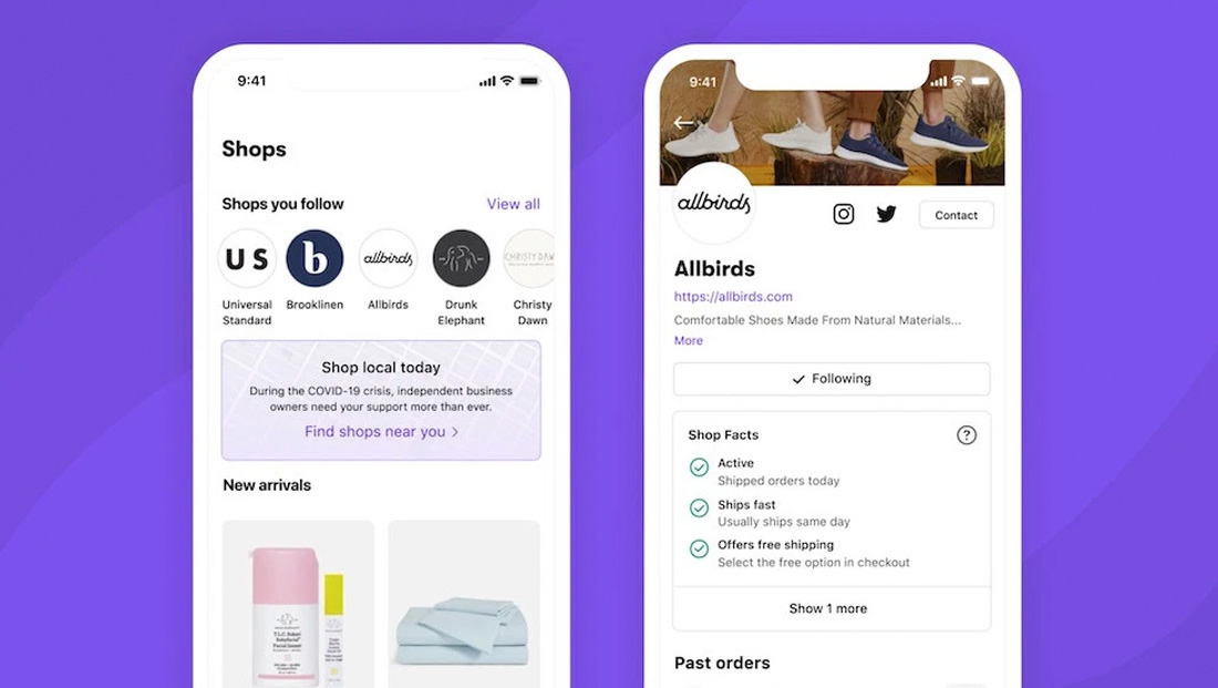 Shopify rebranding its 'Arrive' app as 'Shop' — and introducing that elusive marketplace