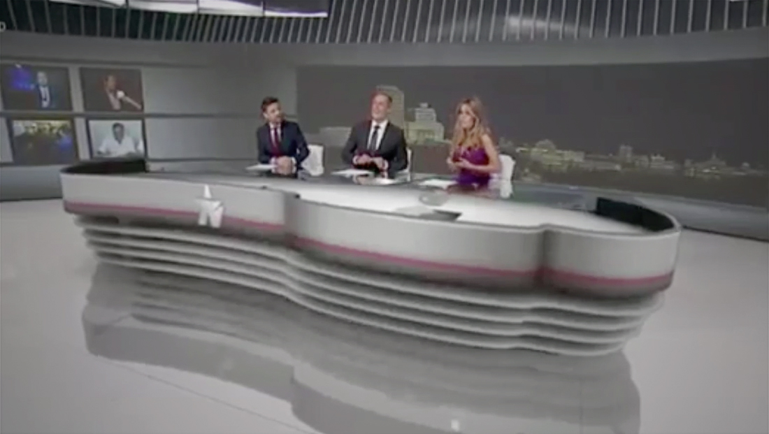 Telemadrid recreates its original 1989 set with video wall, AR