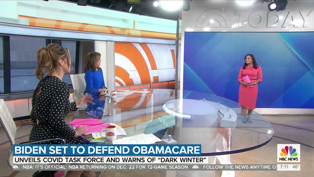 'Today' gains a video wall, appears to lose the 'Orange Room' in Studio 1A updates