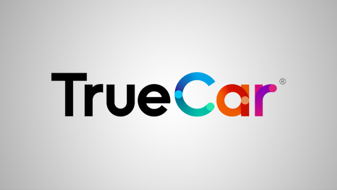 TrueCar drives home a new logo design