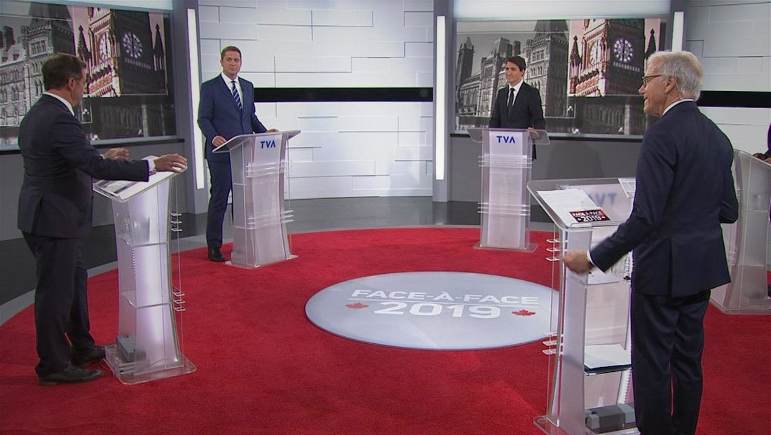 TVA goes in-the-round for Canadian election debate