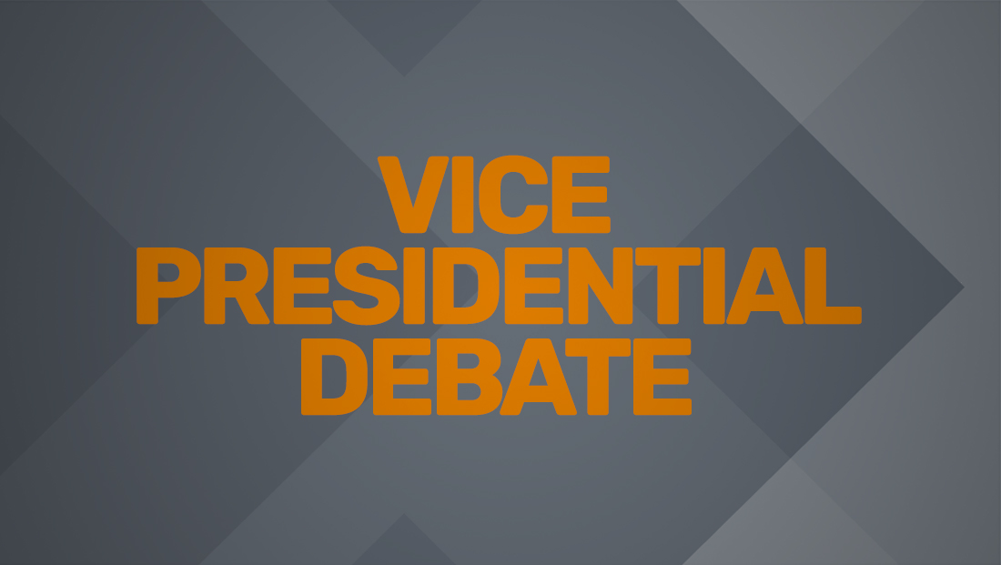 Watch the network promos for the vice presidential debate