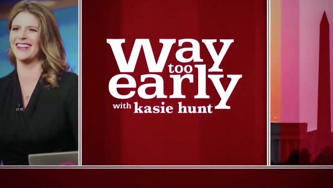 MSNBC brings back 'Way Too Early' with familiar look