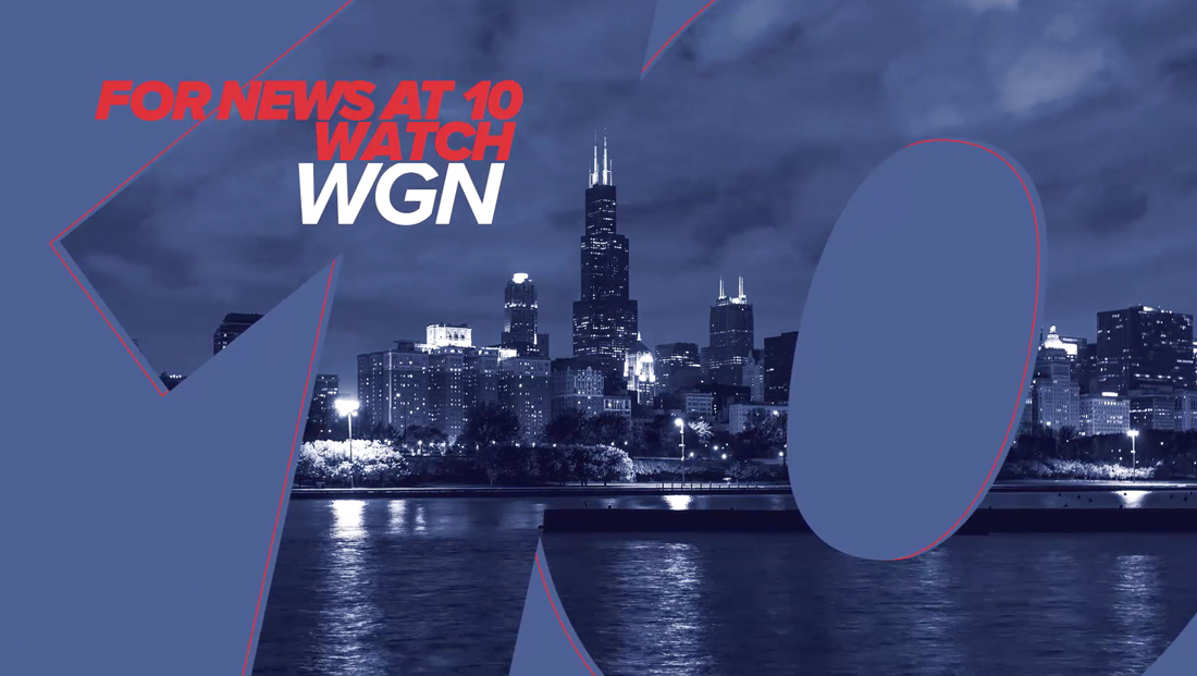 Independent Chicago station plugs 10 p.m. news in image campaign